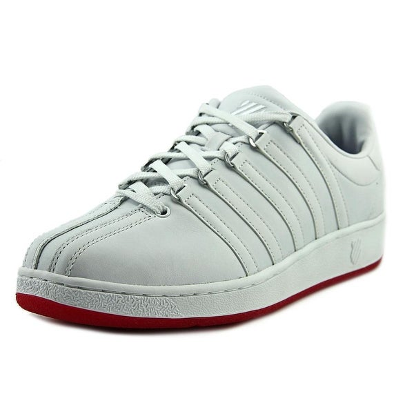 K-Swiss Classic VN Men White/Mars Red Sneakers Shoes