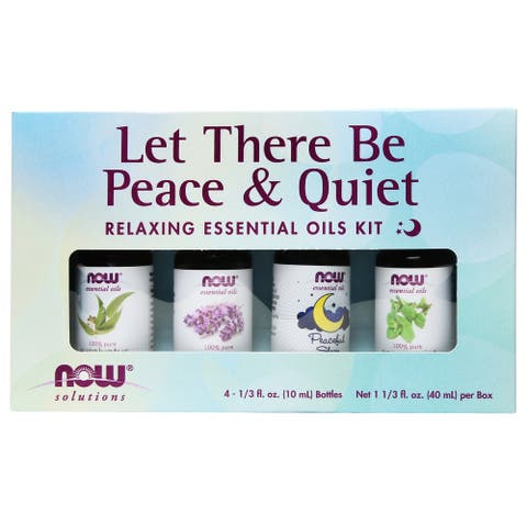 NOW Foods - Now Essential Oil Let There Be Peace Quiet Relaxing Oil -