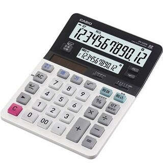 Casio Dv-220 12-Digit Dual Display Desktop Solar Calculator