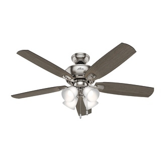 Link to Hunter 52' Amberlin Ceiling Fan with LED Light Kit and Pull Chains Similar Items in Ceiling Fans