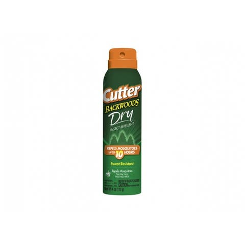Cutter HG-96248 Backwoods Dry Insect Repellent Aerosol, 4 Oz