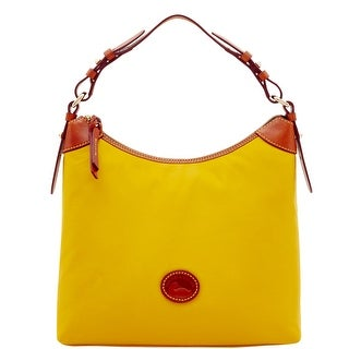 Dooney & Bourke Nylon Large Erica (Introduced by Dooney & Bourke at $148 in Feb 2017) - Yellow