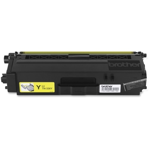 Brother TN336Y Brother TN336Y Toner Cartridge - Yellow - Laser - High Yield - 3500 Page - 1 Each