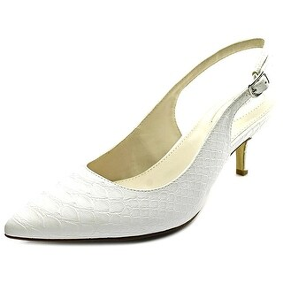 Alfani Womens Babbsy Pointed Toe SlingBack Classic Pumps (4 options available)