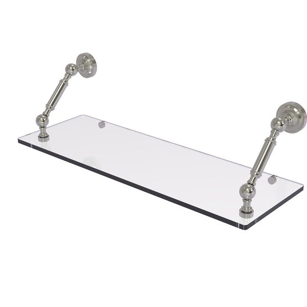 Allied Brass Dottingham Collection Floating Glass Shelf