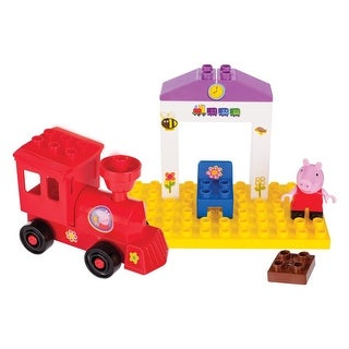 Peppa Pig Train Station Construction Set - Multi