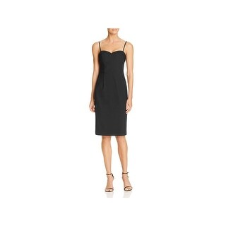 Black Halo Womens Clover Cocktail Dress Special Occasion Knee-Length