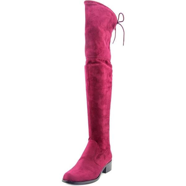 Charles By Charles David Gunter Women Round Toe Suede Over the Knee Boot