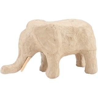 "Paper-Mache Elephant-4.75""X2.75"""