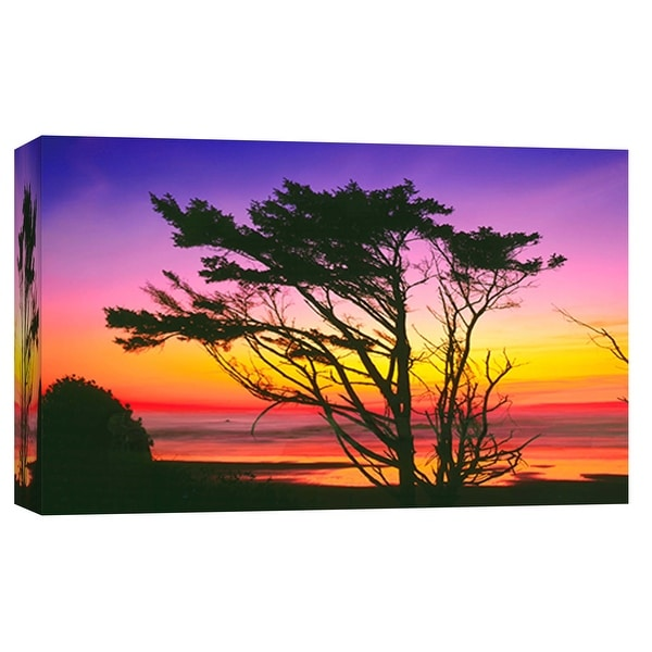 """PTM Images 9-101965 PTM Canvas Collection 8"""" x 10"""" - """"Olympic Beach"""" Giclee Nautical and Ocean Art Print on Canvas"""