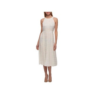 Tommy Hilfiger Womens Special Occasion Dress Metallic Printed