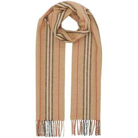 Burberry Mens Womens Uni Icon Striped Scarf