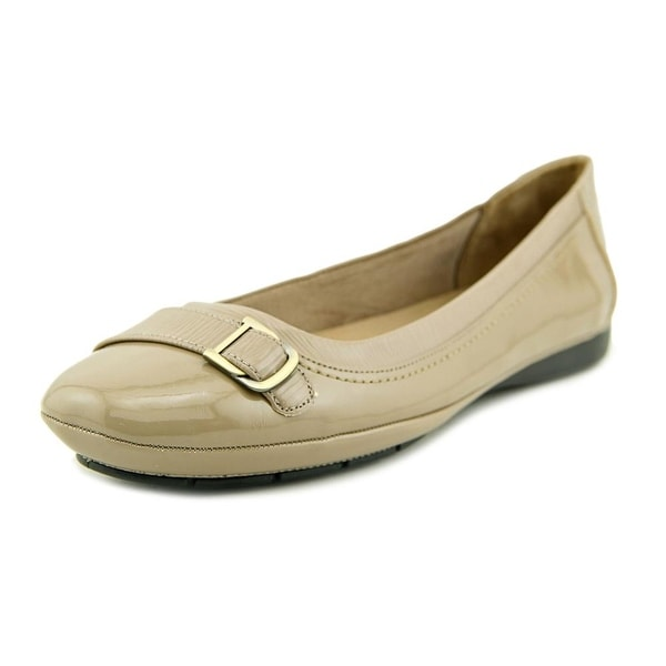 Life Stride Venti Women W Round Toe Synthetic Tan Flats