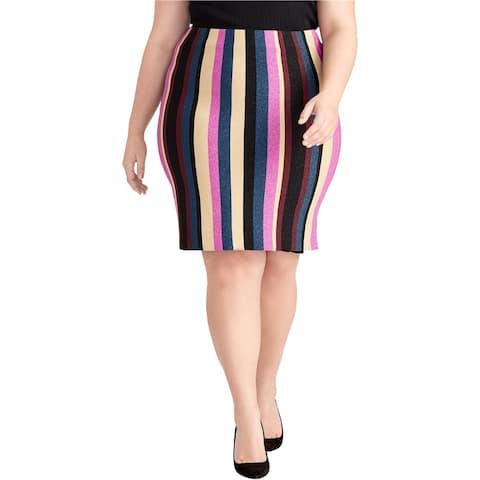 Rachel Roy Womens Veda Stripe Pencil Skirt