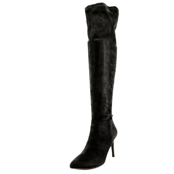 Carlos by Carlos Santana Galileo Women Round Toe Canvas Over the Knee Boot
