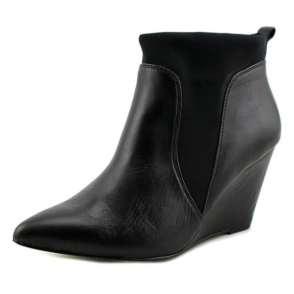 Bella Vita Deryn Women W Pointed Toe Synthetic Black Ankle Boot