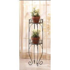 Zingz & Thingz 28232 Decorative Bi-Level Plant Stand