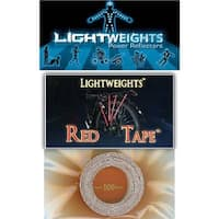 Lightweight Safety Reflective Tape - Red - 100 inches - LWRT