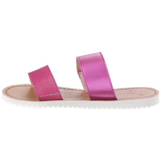 Jessica Simpson Womens Aoki Open Toe Casual Slide Sandals