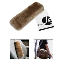 Australian Wool Seat Belt Shoulder Pad Strap Cover for Adults, Kids, Children [Doubles As a Soft Han