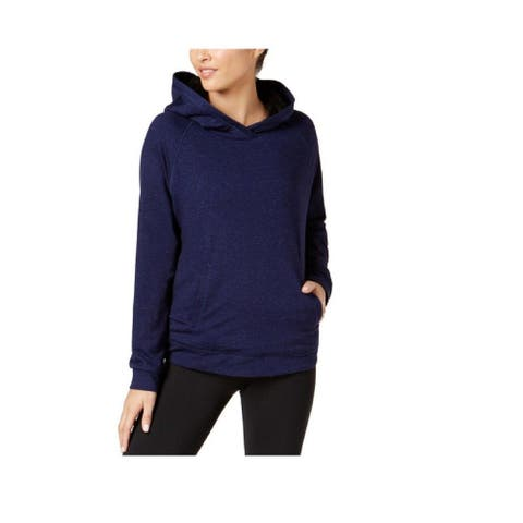 32 Degrees Women's New Soft Fleece-Lined Hoodie (Blue, XXL)
