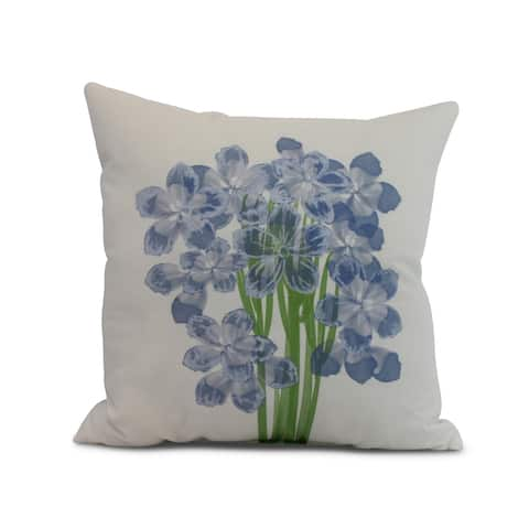 20 x 20 inch Florpalida Floral Print Pillow