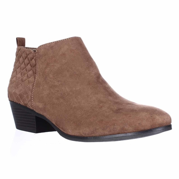 SC35 Wessley Semi-Quilted Short Booties, Maple