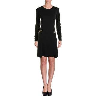 MICHAEL Michael Kors Womens Ponte Long Sleeves Wear to Work Dress