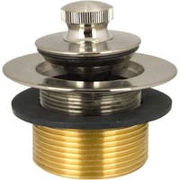 Monogram Brass MB-TW-200 Decorative Lift And Turn Tub Stopper