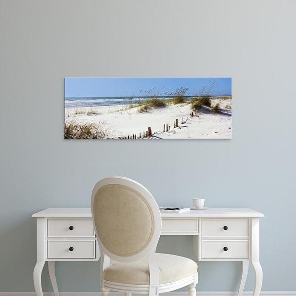 Easy Art Prints Panoramic Images's 'Perdido Key Area, Gulf Islands National Seashore, Pensacola, Florida' Canvas Art