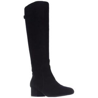 Anne Klein Camden Knee High Dress Boots, Black