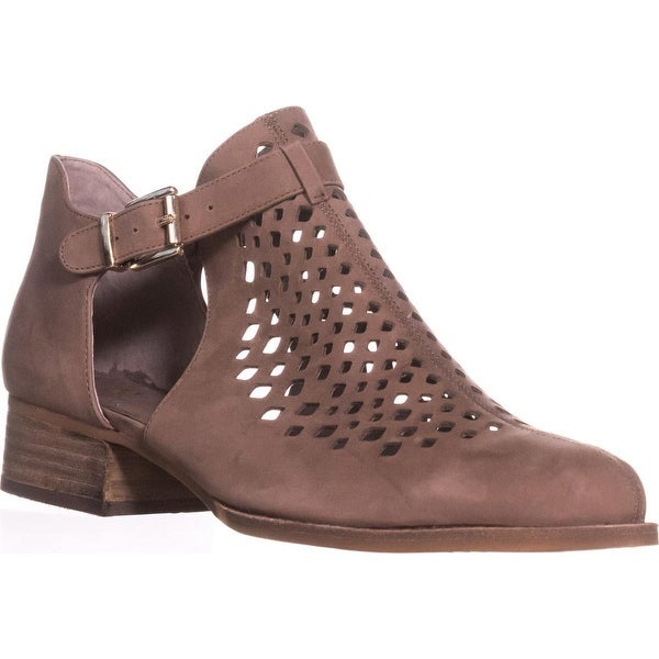 Vince Camuto Cadey Cutout Ankle Booties, Smoke Taupe - 8.5 us