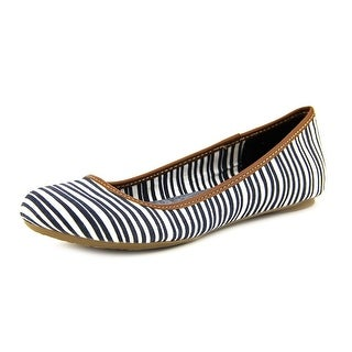 Dr. Scholl's Friendly Round Toe Canvas Flats