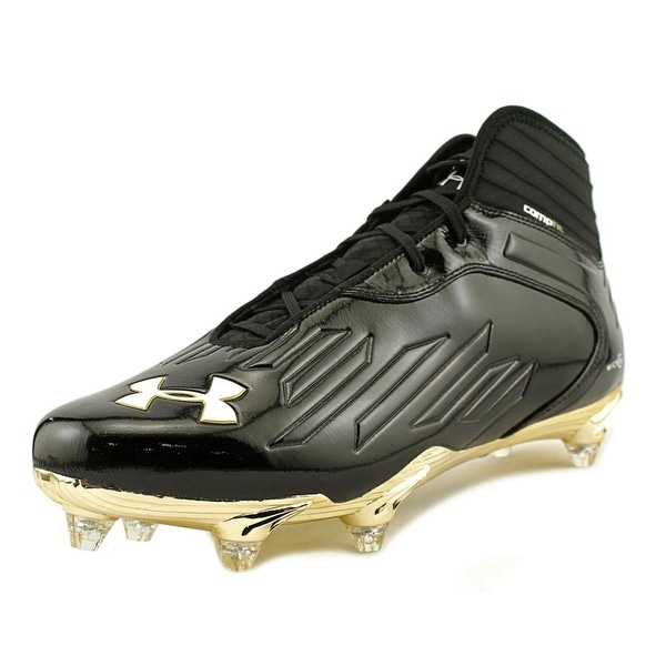 Under Armour Tm Nitro IV Mid D Compfit Men Blk/Mgo/Wht Cleats