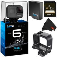 GoPro HERO6 Black Action Camera (CHDHX-601) Bundle