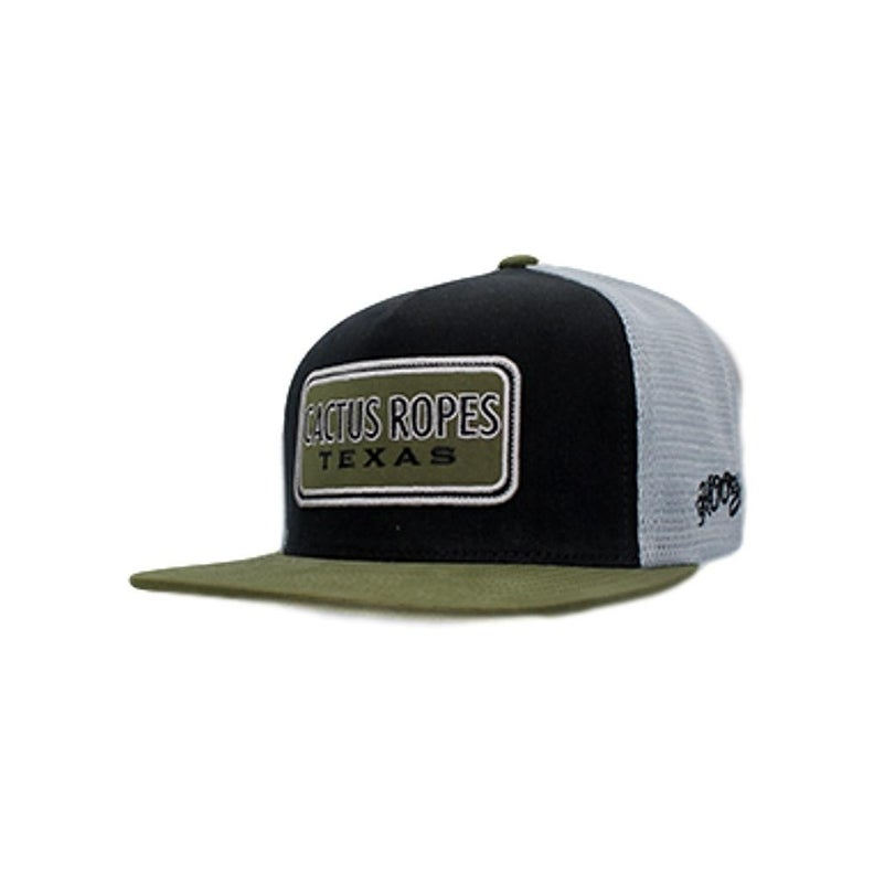 92b0dbaca Shop HOOey Hat Mens Trucker Cactus Ropes CR26 One Size Black Gray - Free  Shipping On Orders Over $45 - Overstock - 22358088