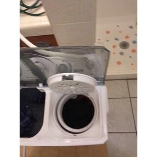 Shop Della Small Compact Portable Washing Machine Top Load