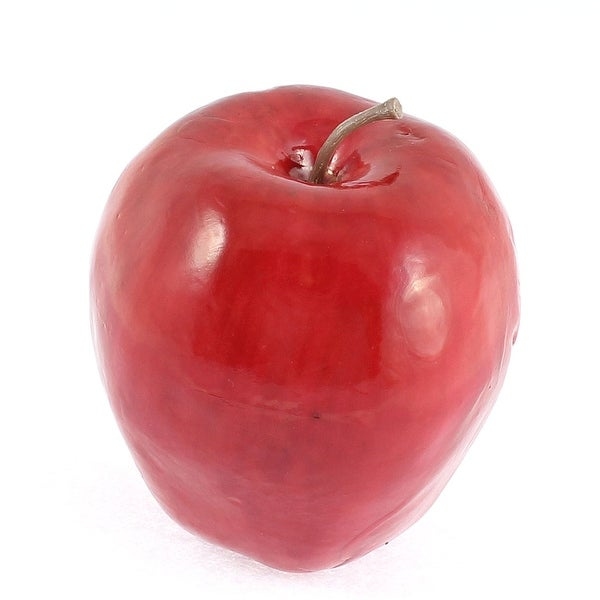 Shop Unique Bargains Artificial Fruit Apples Red Delicious Apple
