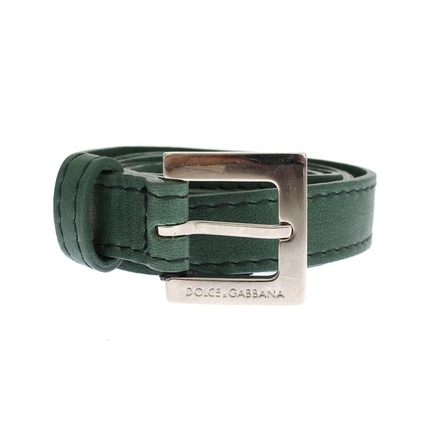 Dolce & Gabbana Green leather belt