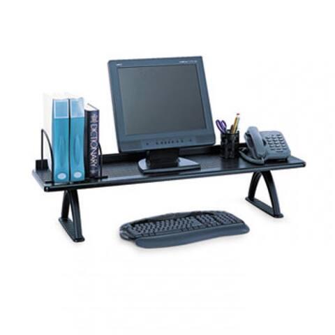 Value Mate Desk Riser, 100-Pound Capacity, 42 X 12 X 8, Black