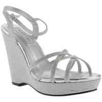 Touch Ups Women's Jaden Sandal Silver Shimmer