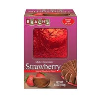 Brach's Milk Chocolate Natural Strawberry Flavor Ball 5.5 oz Box Pack Of 2