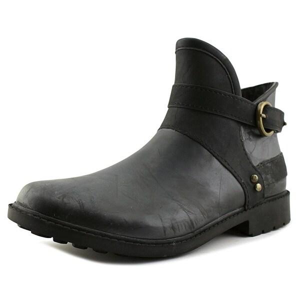 Chooka Derby Women Black Snow Boots