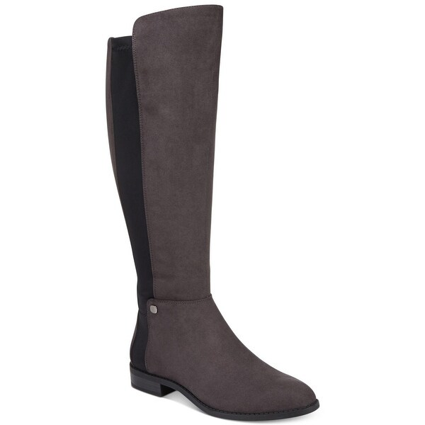 b40f282bc417 Shop Alfani Womens Pippaa Mid-Calf Round Toe Riding Boots - Free ...