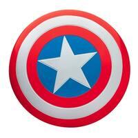 Captain America Superhero Deluxe Metal Shield - Red