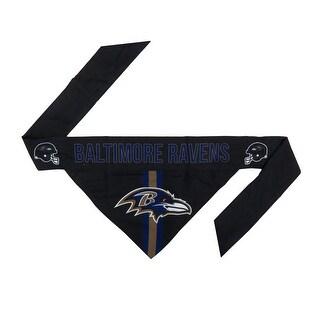 Baltimore Ravens Pet Bandanna Size L