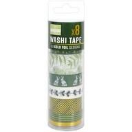 Kale - First Edition Washi Tape 10M Rolls 8/Pkg
