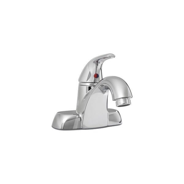 PROFLO PFWSC47445 0.5 GPM Centerset Single Handle Bathroom Faucet - Polished Chrome