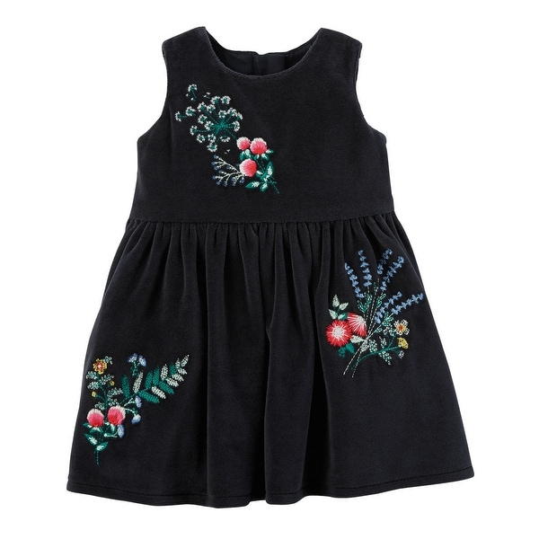 f932420a59148 Shop Carter's Baby Girls' Floral Dress, 9 Months - Free Shipping On Orders  Over $45 - Overstock - 19758624