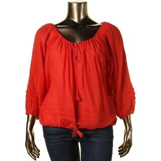 Denim & Supply Ralph Lauren Womens Knit Long Sleeves Blouse - XL